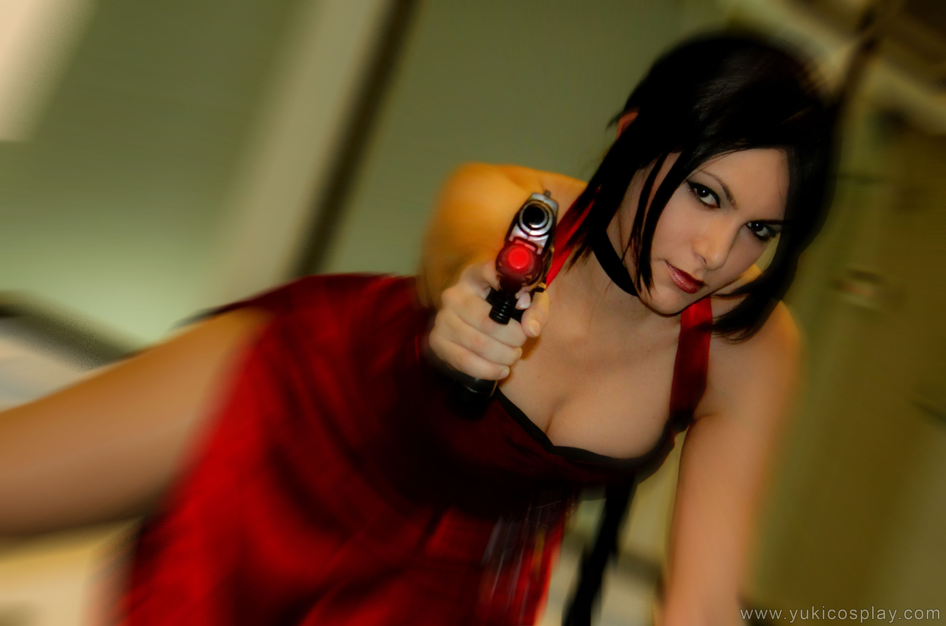 Ada wong vs the hored 5