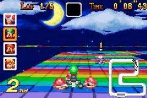 Rainbow Road de Super Nes!